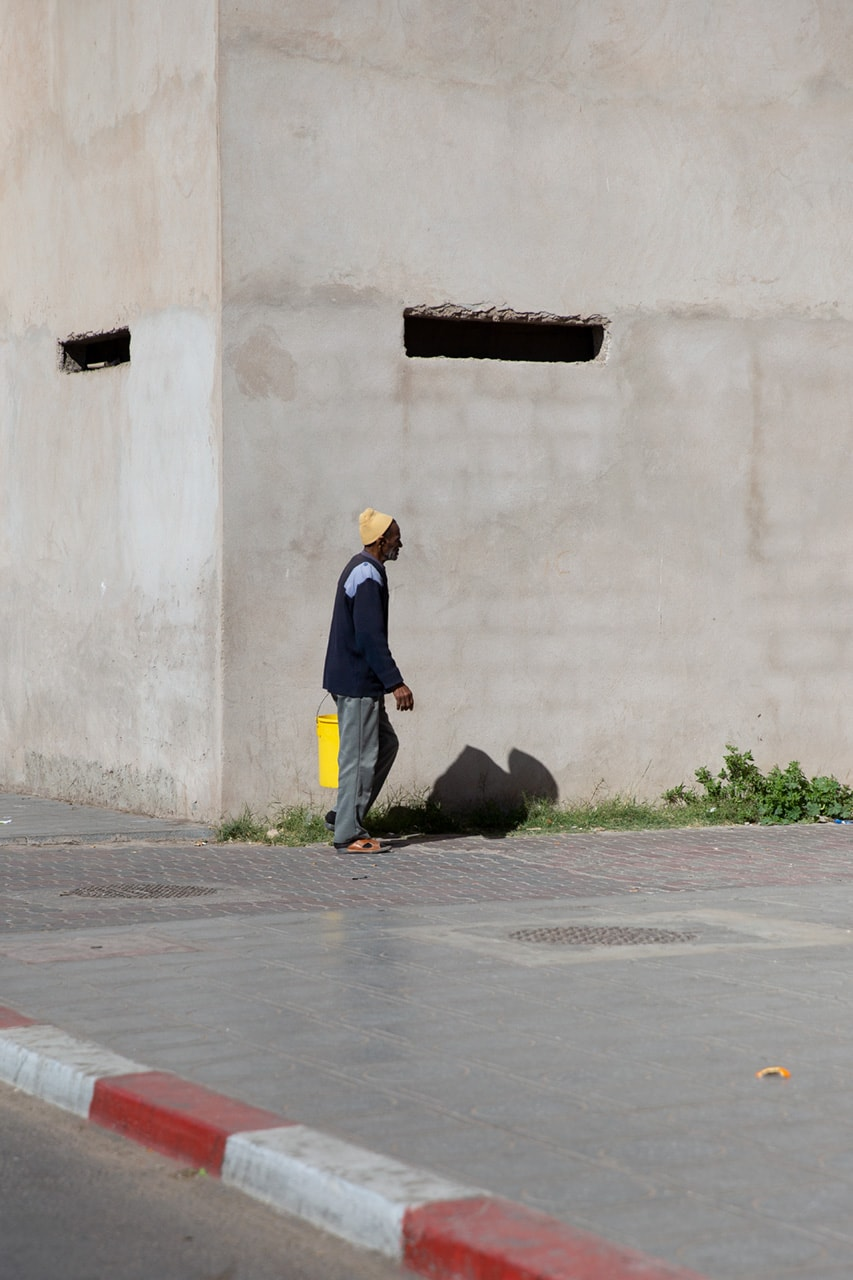 Julian Mullan, Morocco, Man with Bucket